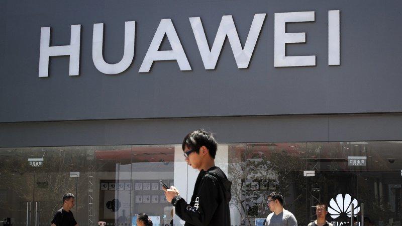 Huawei, numéro deux mondial des smartphones, s'est retrouvé piégé, en mai, par les rebondissements de la guerre commerciale entre Pékin et Washington sur fond de rivalité technologique. (illustration)