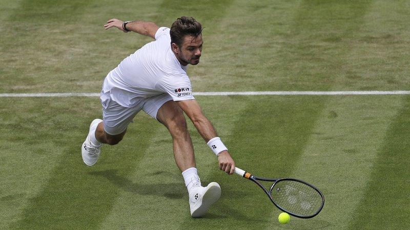 Le Suisse Stan Wawrinka s'était fait éliminer au 2e tour à Wimbledon. (Archives)