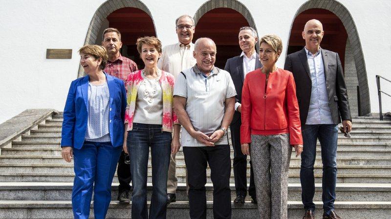 Fête nationale: où seront les conseillers fédéraux le 1er août?