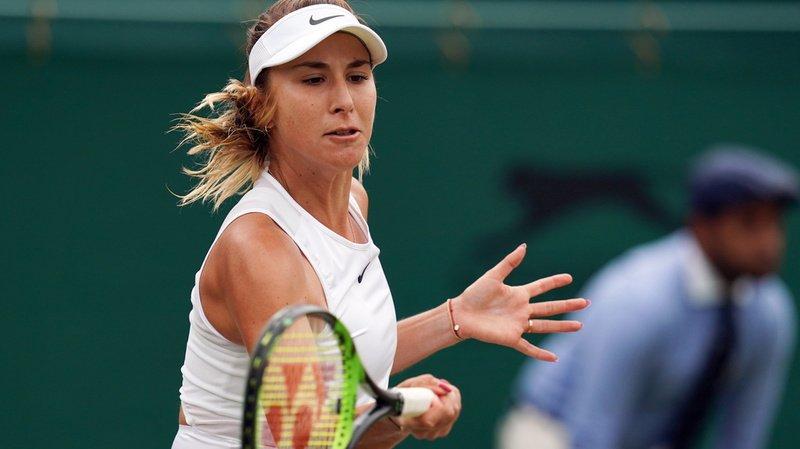 La St-Galloise de 22 ans effectue cette semaine son retour aux affaires, un mois après sa décevante élimination subie en 16e de finale à Wimbledon (archives).