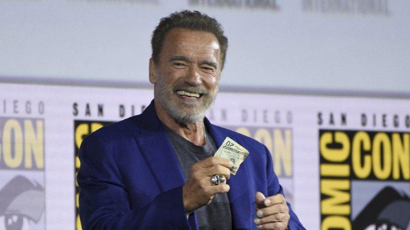 """""""C'est complètement faux de dire que je n'avais pas besoin de revenir. Bien sûr que j'avais besoin de revenir (...). Je suis accro à Terminator"""", a déclaré Arnold Schwarzenegger"""