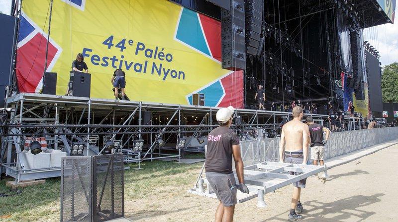 Nyon: Paléo Festival dans les starting-blocks avant les concerts, il reste des billets pour le week-end
