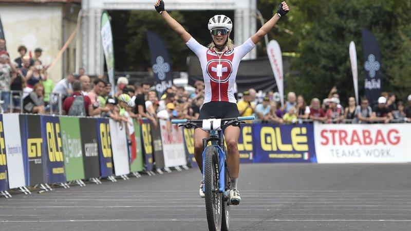 Cyclisme: Jolanda Neff conserve son titre de championne d'Europe de VTT