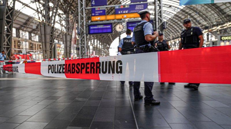 L'Erythréen suspecté d'avoir tué lundi un enfant de huit ans en le poussant devant un train en marche à Francfort était recherché en Suisse depuis cinq jours.