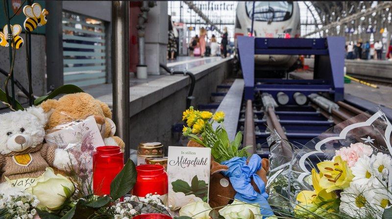 Le drame, survenu à la gare de Francfort, a suscité un gros émoi en Allemagne.