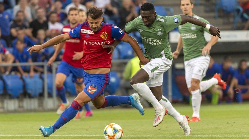 Football – Ligue des champions: le FC Bâle bat le PSV Eindhoven 2-1 en match retour du deuxième tour qualificatif