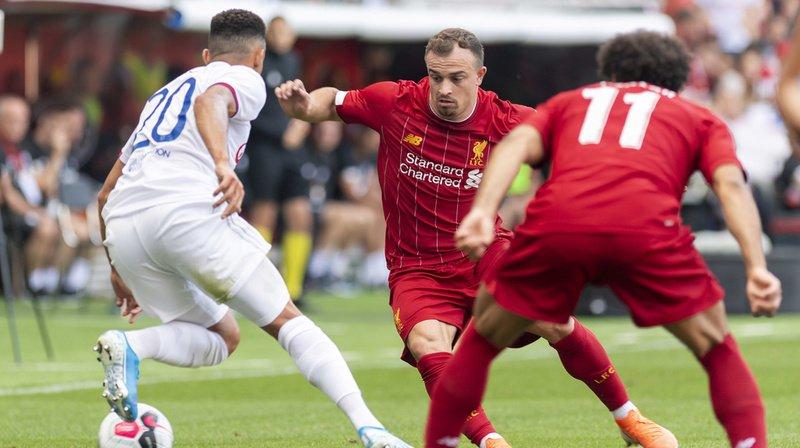 Football: Shaqiri joue 30 minutes avec Liverpool à Genève devant 25'900 spectateurs