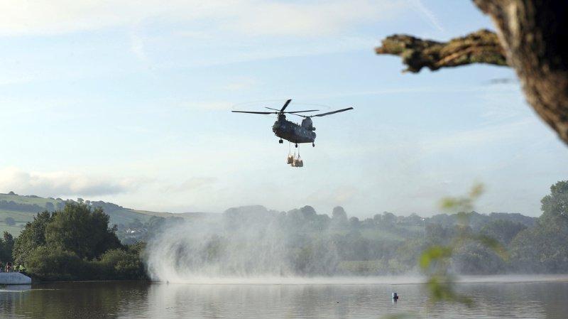 Grande-Bretagne: un barrage risque de s'effondrer, plus de 1000 personnes évacuées
