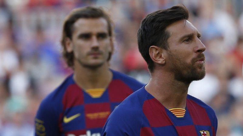 Football: coup dur pour Barcelone, Messi se blesse lors de son premier entraînement