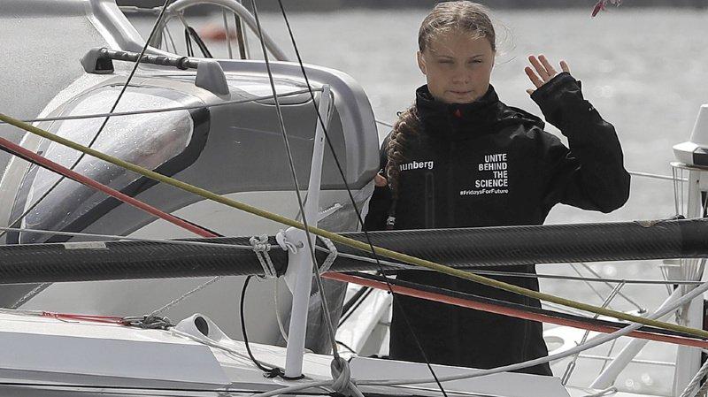 Climat: Greta Thunberg se rendra à New York en voilier, après une traversée de deux semaines