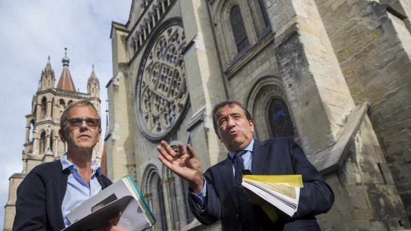 Lausanne: la cathédrale au coeur de nouveaux travaux