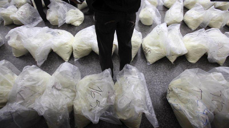 Une tonne de cocaïne saisie en Suisse et à Hong-Kong