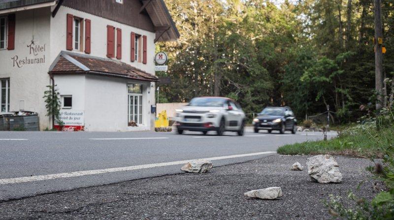 Chutes de pierres: le col de Saint-Cergue sous haute surveillance