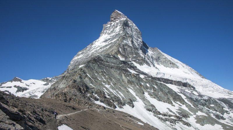 Valais: deux alpinistes tombent dans le vide et décèdent au Cervin