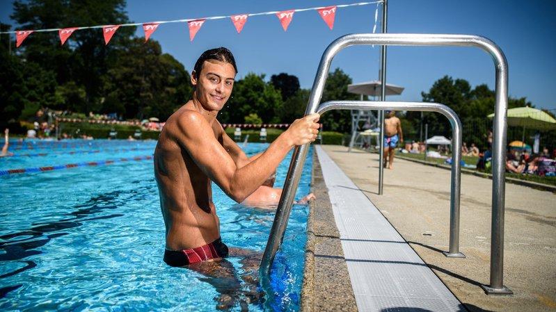 Le Glandois Nicolas Zoulalian a plongé dans le grand bain