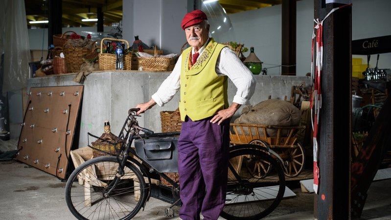 Au cœur de la Fête des vignerons: «Il serait fier de voir son vélo sur scène»