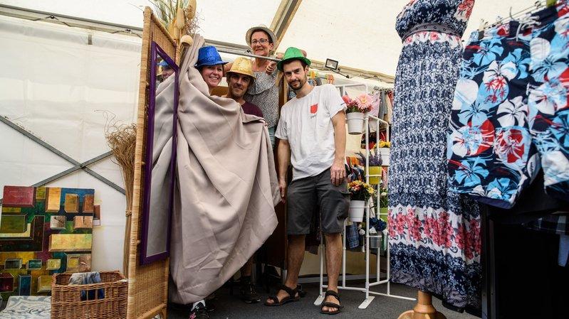 A Paléo, cette brocante relooke les festivaliers