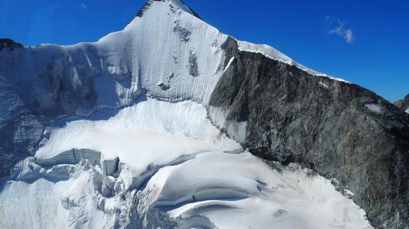 Valais: un alpiniste allemand perd la vie à l'Obergabelhorn