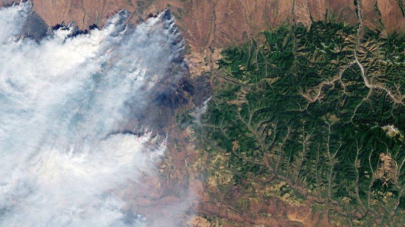 Les incendies sont d'une telle ampleur qu'ils sont visibles depuis l'espace (archives).