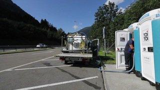 WC mobiles le long de l'A2 pour lutter contre les pipis sauvages