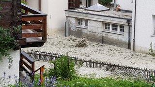 Zermatt: le Trift est sorti de son lit mais personne n'a été blessé