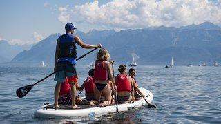 Il y a 500 accidents de paddle chaque année en Suisse