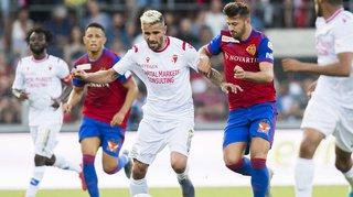 Football: Sion s'incline lourdement face à Bâle lors de la 1ère journée de championnat