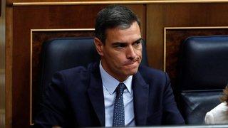 Sanchez perd le premier vote de confiance