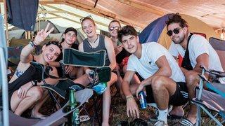Le camping de Paléo, un monde dans le monde