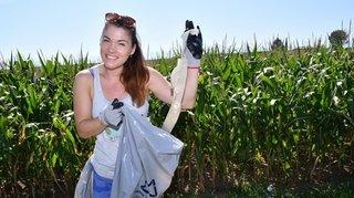 Gland: ils ont fait la chasse aux déchets