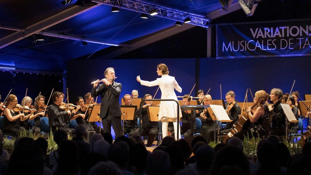 Le flûtiste Emmanuel Pahud et l'Orchestre de chambre de Lausanne, dirigé par Oksana Lyniv, ont clôturé cette 10e édition.