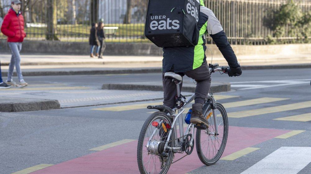 Uber Eats débute ses activités à Nyon et Morges ce mardi (photo d'illustration).