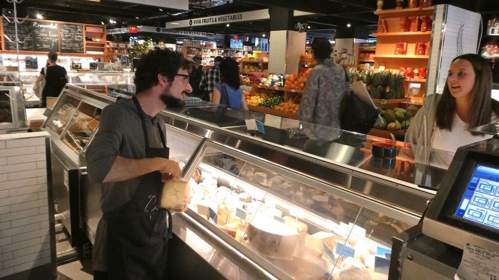 A la Valley Shepherd Creamery de New York, on peut acheter de l'emmental... Américain!