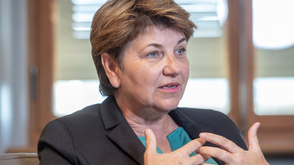 Ministre de la Défense, Viola Amherd a toujours trouvé qu'il était important «de montrer ce que l'armée fait concrètement».