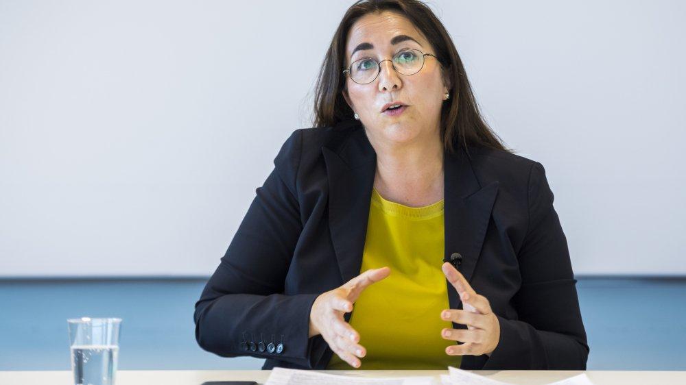 Cesla Amarelle, conseillère d'Etat vaudoise, a expliqué mardi les nouveautés de la rentrée 2019.