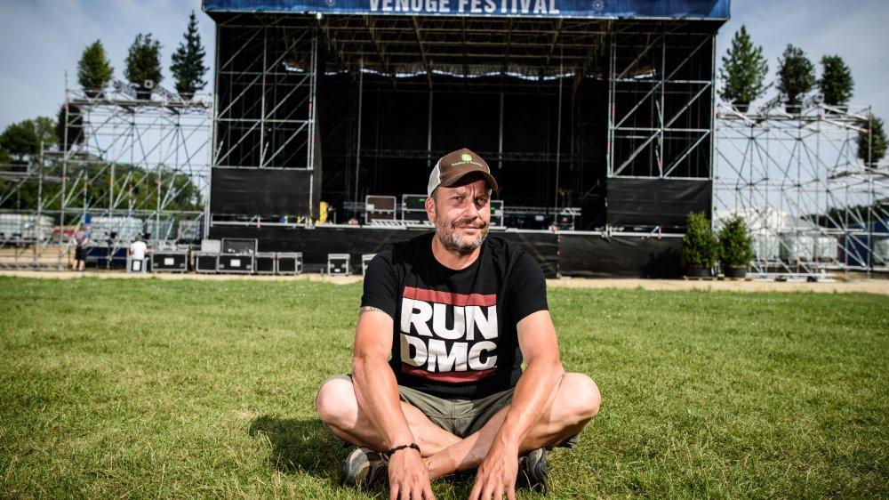Greg Fischer, comme l'ensemble de son équipe, préside et programme le festival bénévolement.