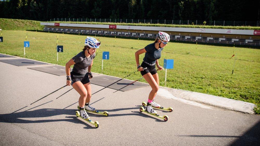 Avec ses pistes en bitume et son pas de tir exigeant, le Stade de ski nordique des Tuffes est surtout utile durant l'été pour la préparation des futurs champions du biathlon, du ski de fond ou du saut à ski français.
