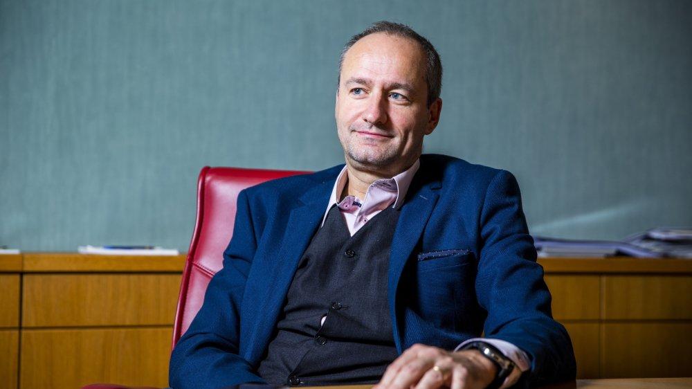 Gilles Davoine présentera jeudi soir, au Conseil communal de Gland, sa proposition de baisse du taux d'imposition.