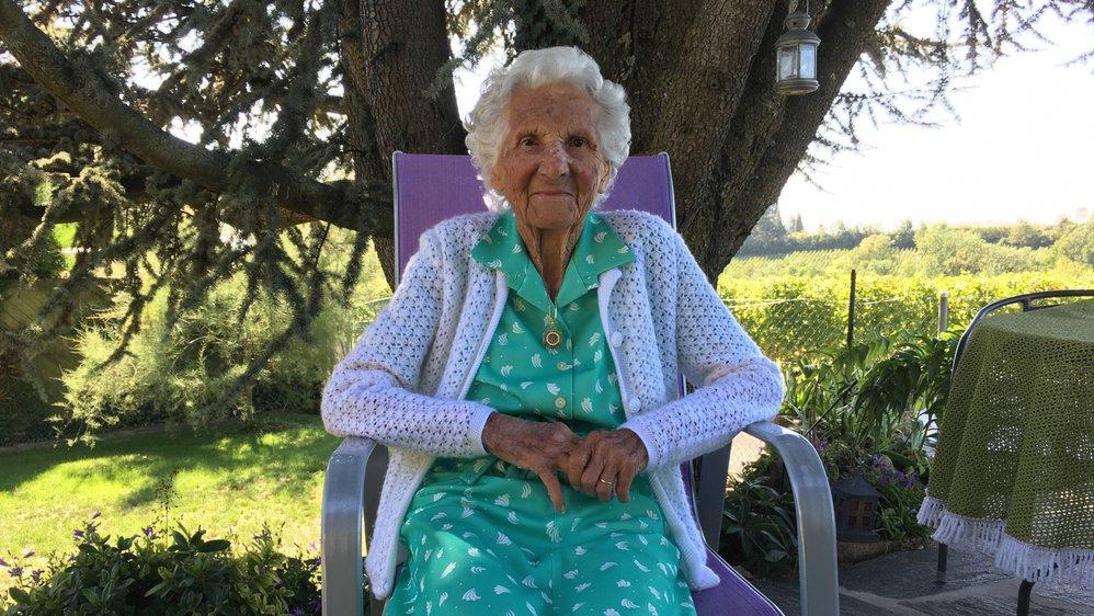 Elsie Pellet a célébré son centenaire, ce jeudi à Lavigny, entourée de sa famille.