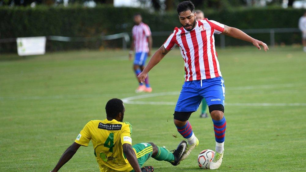 Ayoud Rachane a eu une balle d'égalisation sur penalty.