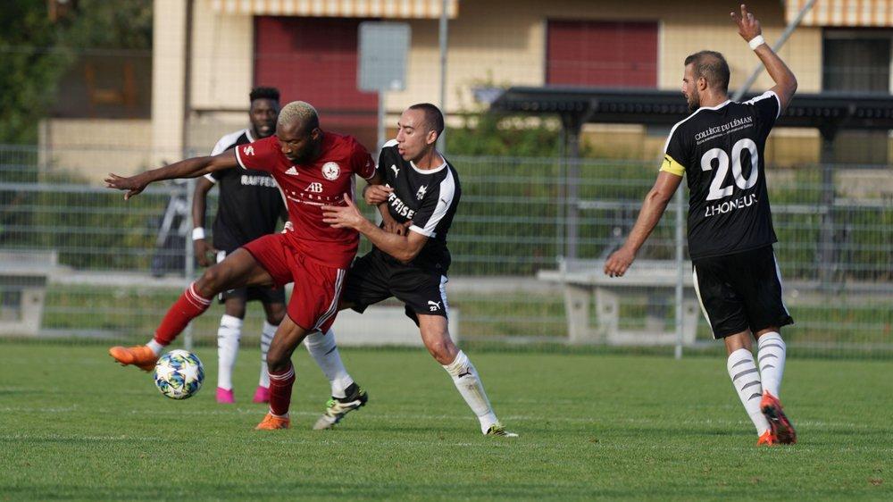 Rien n'arrête Lamine Soumahoro et Saint-Prex en ce début de championnat.