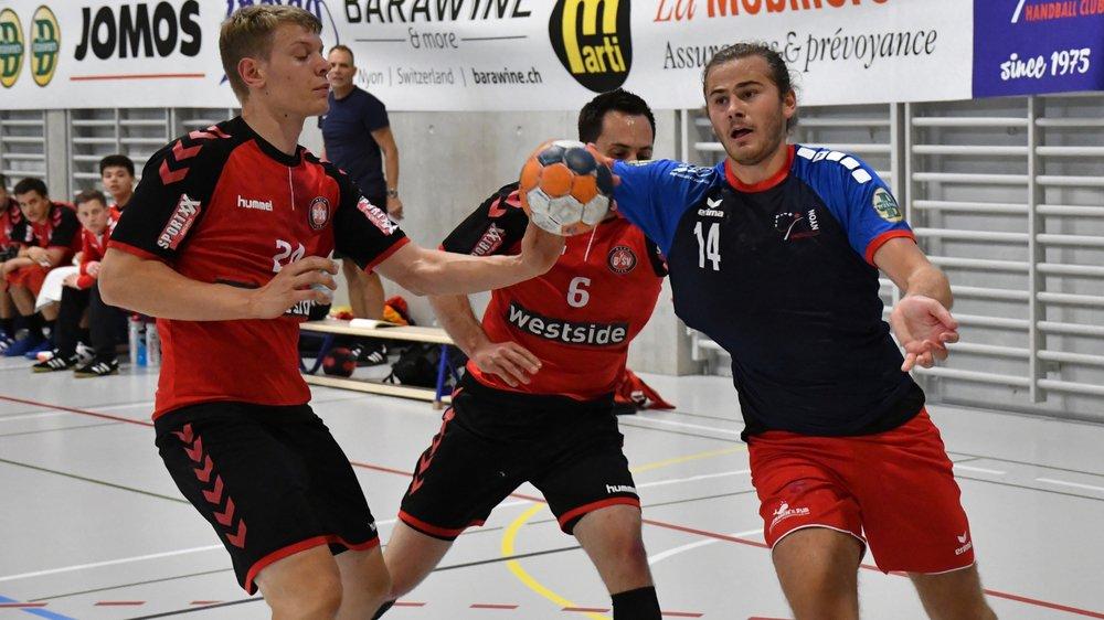 Première victoire de la saison pour Léo Poret (ici face à Berne II) et les Nyonnais.