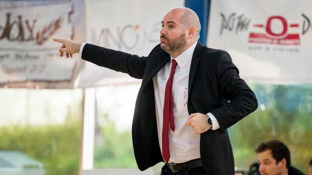 Fran Leon Sedano espère franchir un nouveau palier pour sa quatrième année sur le banc nyonnais.