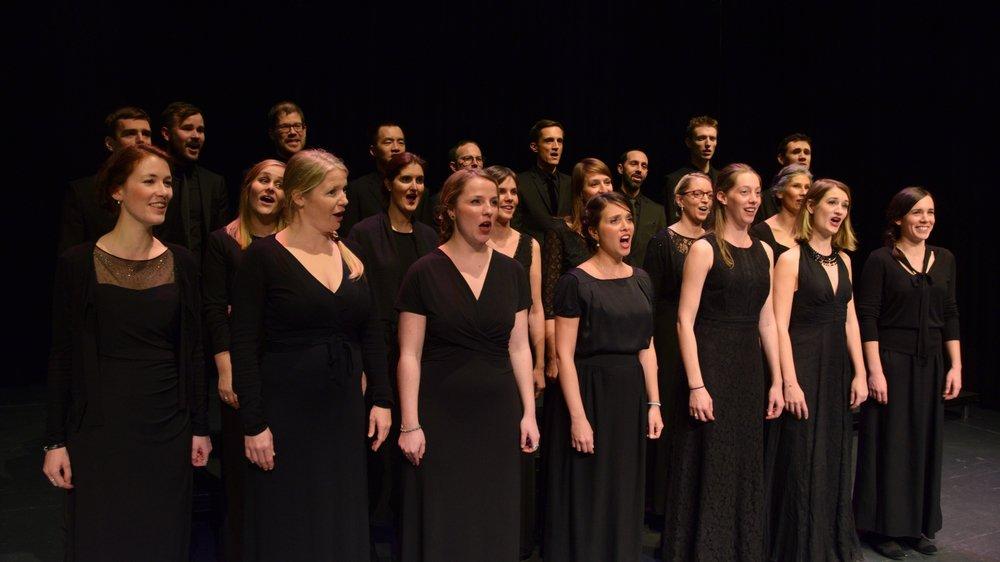 Le choeur Voix de Lausanne chantera pour les pièces composées par Jérôme Berney, co-compositeur de la Fête des vignerons.