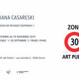 Zone 30 Art public présente Roxana Casareski