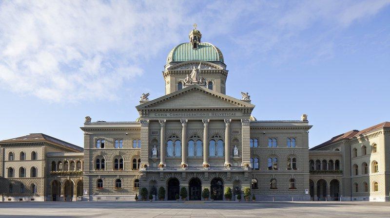 Les blocs seront placés sur le trottoir devant le Palais fédéral.
