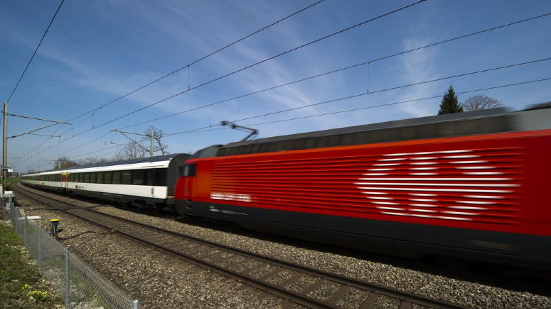"""Les trains en retard peuvent """"sauter"""" une gare."""