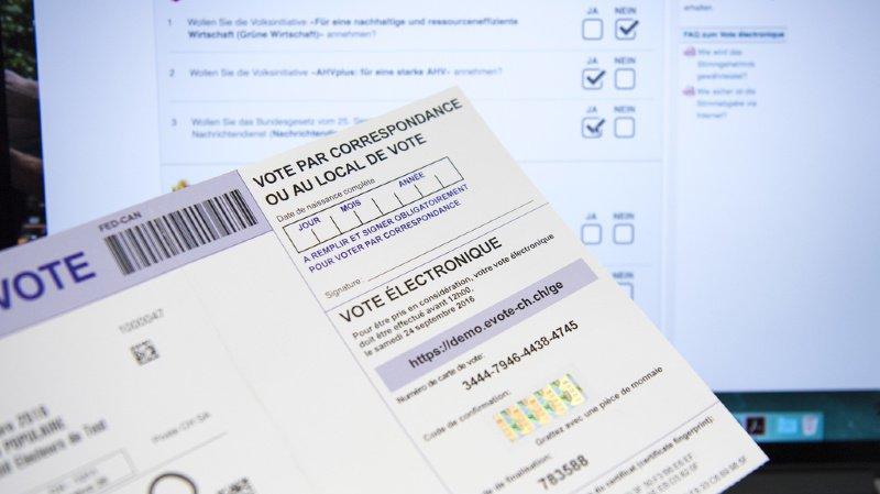 Les Suisses de l'étranger tiennent à pouvoir utiliser l'e-voting aux élections fédérales de 2023. (illustration)
