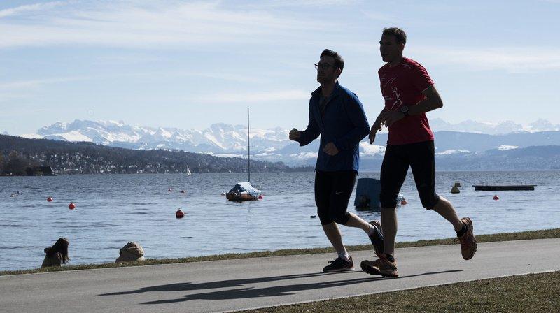 Activité physique et santé: 75% des Suisses jugés suffisamment actifs