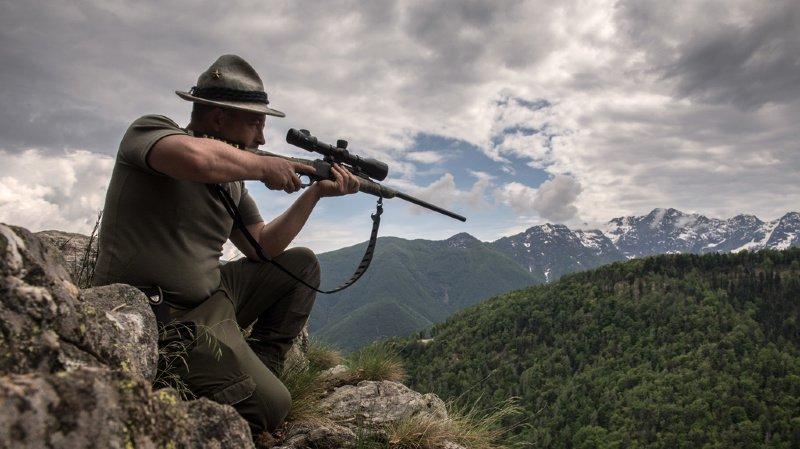 Loi sur la chasse: bouquetins et loups pourront être tirés dans les districts francs